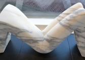 O-68 Jan Pater Emma (due) 2014 Carrara marmer 35 cm hoog
