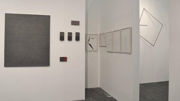 o-68 kunstrai 2018 booth 48-6, Tineke Porck left, Jan Swart middle