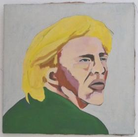 Ad Gerritsen Boris Becker 1990, 50x50cm