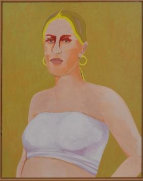 Ad Gerritsen, Gravida, 2003, 130x103cm web