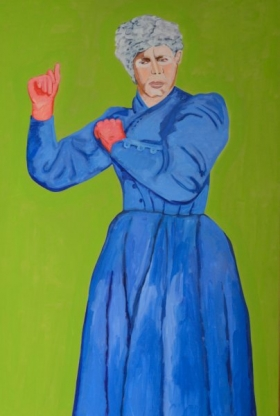 Ad Gerritsen, Grote moeder, 2000:2001, 185x124cm web
