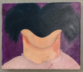 Ad Gerritsen kop, 1967, 30x50cm web