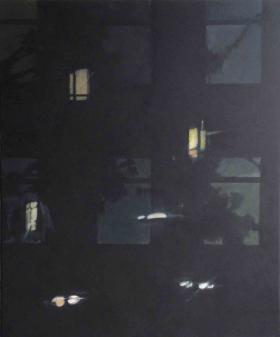 Window X 2014 Oil on canvas, 120 x 100 cm