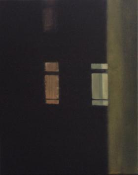 Window XIII 2014 Oil on canvas, 50 x 40 cm