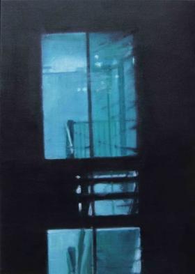 Window XVII 2014 Oil on canvas, 70 x 50 cm