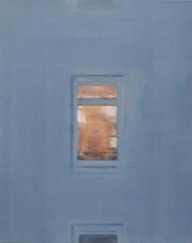 Windows VIII, 2014 Oil on canvas 50 x 40 cm