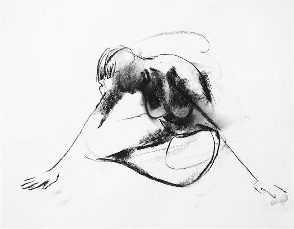 Arlene Diehl O-68-1, 2012, drawing,71x75cm, framed