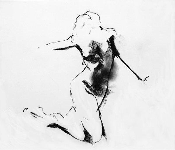 Arlene Diehl O-68-3, drawing, 2012, 71x75cm, framed