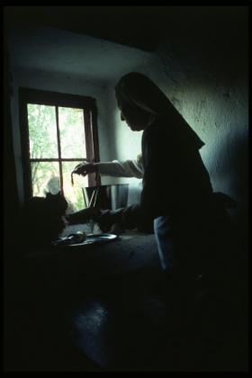 O-68 Dovrat Amsily-Barak The compassionate meal 70x70cm