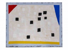 O-68 Harrie Gerritz, House Abstract, 2020, olie op doek 80x100cm web