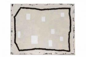 O-68 Harrie Gerritz, White Paintings, 20219, olie op doek 80x100cm web