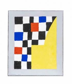 O-68 Harrie Gerritz, Yellow Chapel, 2019, olie op doek 60x50cm web