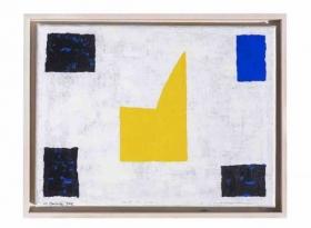 O-68 Harrie Gerritz, Yellow Chapel I, 2012, olie op doek 30x40cm web