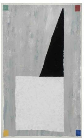 o-68 harrie gerritz abstracte kapel 2017 olie op doek 150x90cm