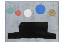 o-68 harrie gerritz, house and planets II, 2016, 70x90cm