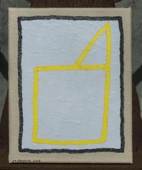o-68 harrie gerritz yellow church 2016 30x24cm