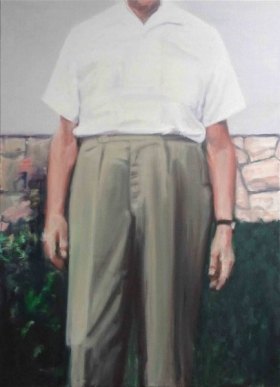 Pants 2016 oil on canvas 110 x 80 cm € 4.200,-
