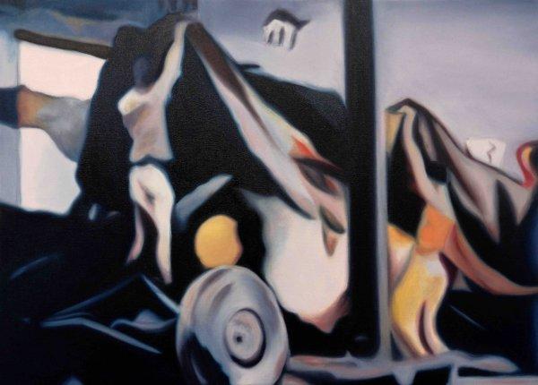 o-68 Daniela Schwabe UNVEIL_65 x 90 cm_oilpaint on canvas_2020