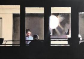 o-68 Andrea Radai 2020-2 Windows XXXI 2020 oil on canvas 70 x 100 cm