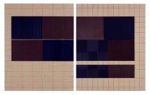 O-68 José Heerkens. 2017-L67. Letter on two Sides, olieverf op linnen, 50 x 80+2 cm. (Foto Willem Kuijpers) web