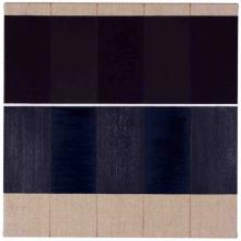 O-68 José Heerkens. 2017-L84. Notation. olieverf op linnen, 35 x 35 cm. foto Willem Kuijpers web