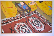 O-68, Ad Gerritsen, Interieur anonyme, 1999, oil on canvas 125x200cm web