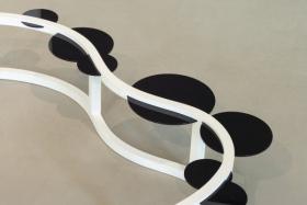 Eddy Stikkelorum, detail- Floating Black Intervention, web