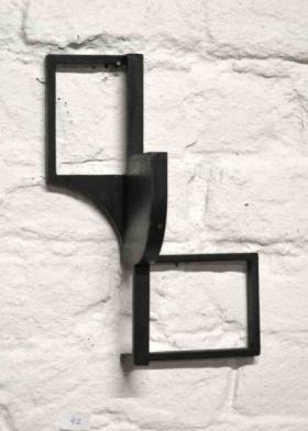O-68 Helen Vergouwen, 526, cortenstaal gezwart, 2017, 19x13,5x8cm, ed.2, web