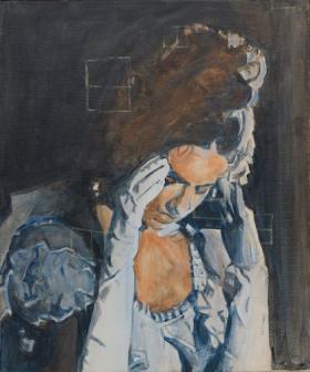 O-68 Johan Clarysse 18, Anna (the infinity of desire), 60x50cm, 2017 web