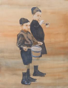 O-68 johan Clarysse 7, The innocence of the child isn't innocent, 90x70 cm, 2016 web