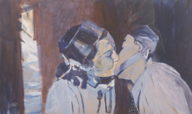 o-68 Johan Clarysse 9, the true nature of love, does she exist, 60x100 cm, 2016 web