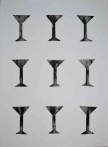 o-68 Klaas Gubbels, zonder titel, litho, 2003