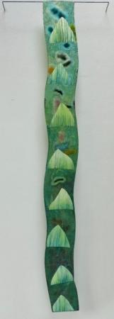 o-68 nikki van es growth fragment, the asparagus
