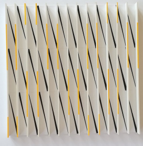 o-68 suzanne hartmans untitled 2018-3a, balsa wood, 50x50cm