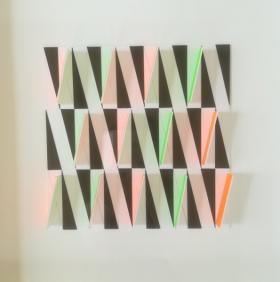 o-68 suzanne hartmans untitled 2018-4, acid free cardboard, 50x50cm