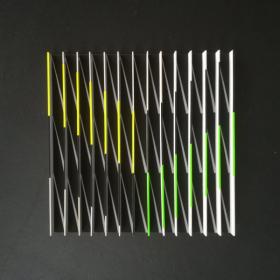 o-68 suzanne hartmans untitled 2018-6a, balsa wood, 50x50cm