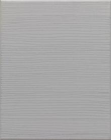 O-68 nr. 1 Tineke Porck Linear 2009-1 30x24cm oil on graphite on canvas[foto Eric de Vries]