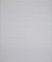 O-68 nr. 12 Tineke Porck 120x100 cm Linear multifold, 2013, olieverf oliekrijt op doek foto Eric de Vries