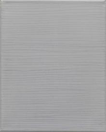 O-68 nr. 2 Tineke Porck Linear 2009-1 30x24cm oil on graphite on canvas[foto Eric de Vries]