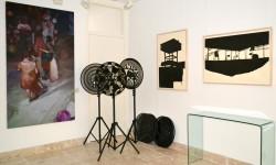 werk van de winnaars van de O-68 prijs 2014 in Art Gallery O-68
