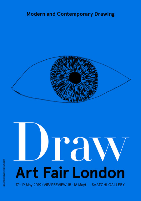 DRAW Art Fair London at Saatchi Gallery, stand G6.2